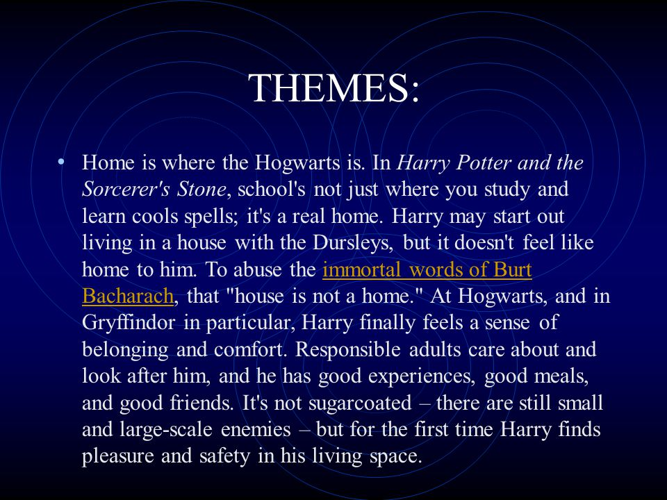 THEMES: Making friends is arguably one of the best things about going to Hogwarts.