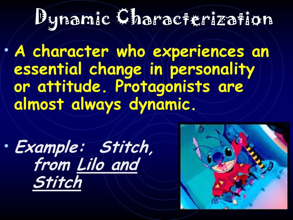 DYNAMIC CHARACTERS Dynamic traits are made evident by Neville Longbottom, Harry Potter s classmate.