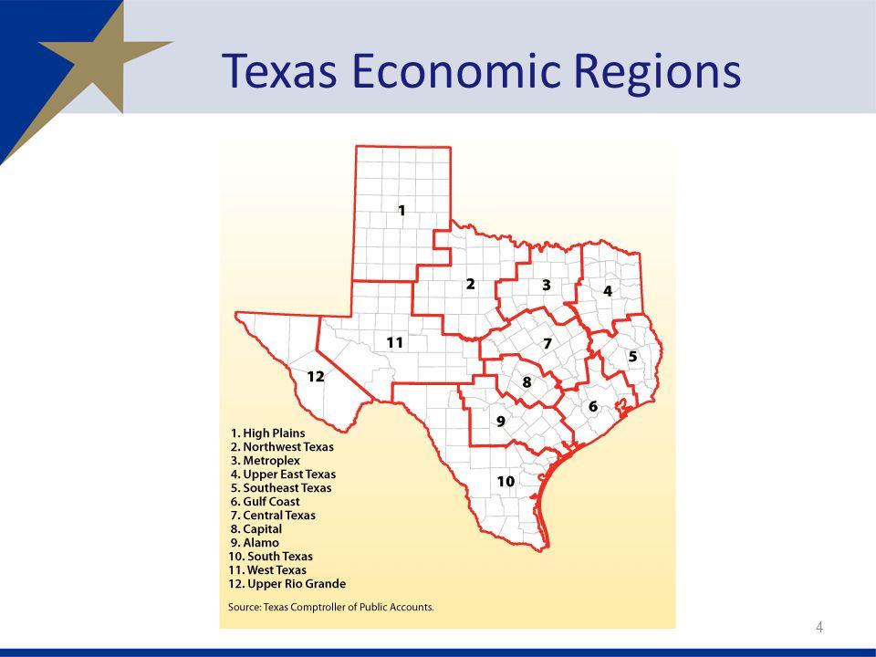 Texas Economic Regions 4