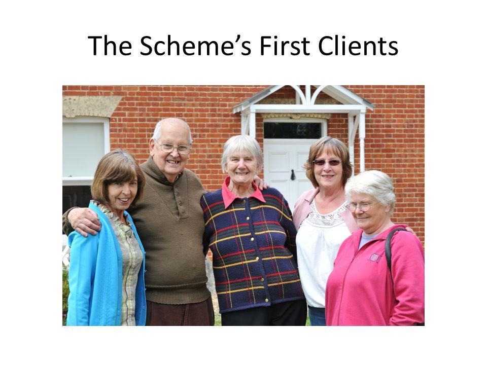 The Scheme's First Clients