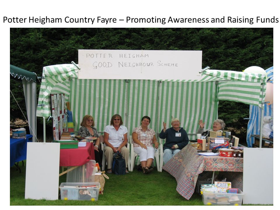 Potter Heigham Country Fayre – Promoting Awareness and Raising Funds