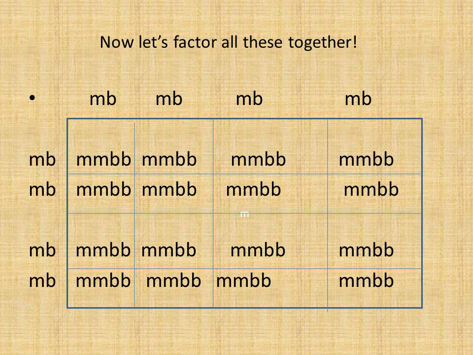 Ron and Hermione are pure recessive, so they have the same genotype: mmbb mb mb mb mb mb