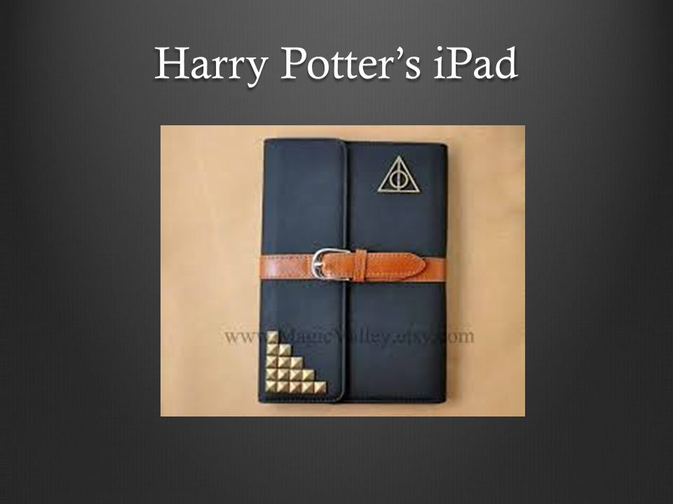 Harry Potter's iPad