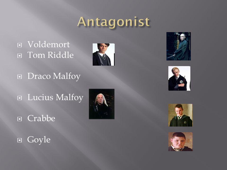  Voldemort  Tom Riddle  Draco Malfoy  Lucius Malfoy  Crabbe  Goyle