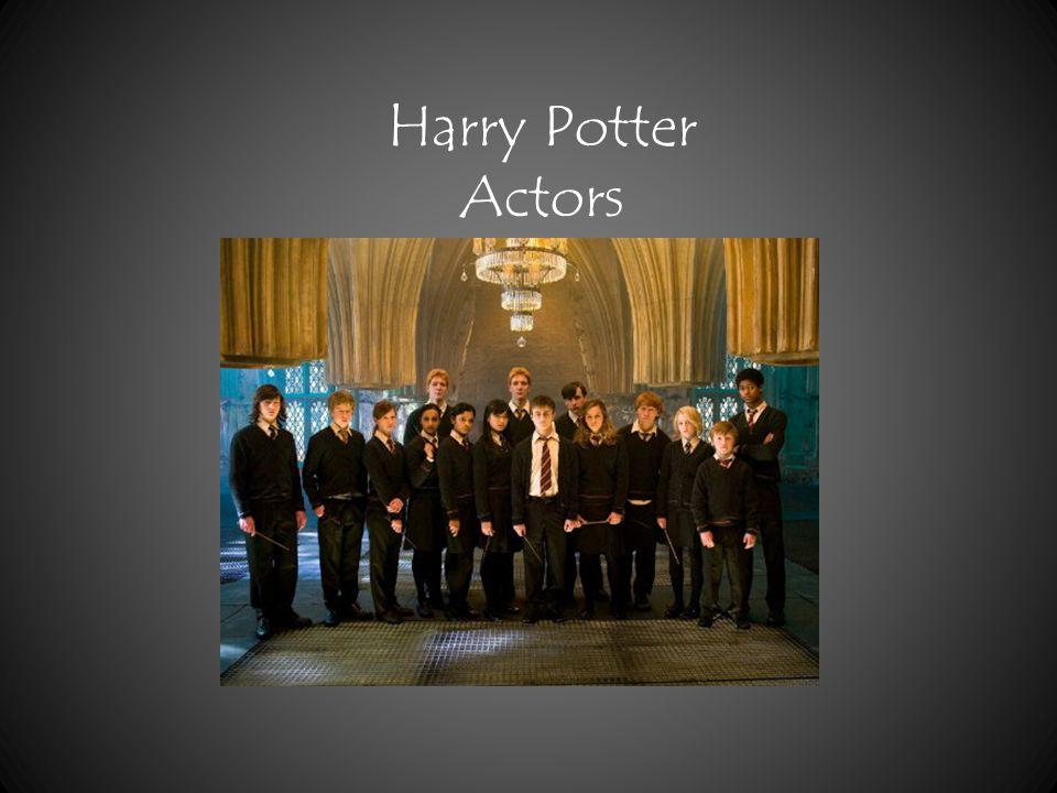1.Harry Potter – Daniel Radcliffe 2. Ginny Wesley – Bonnie Wright 3.