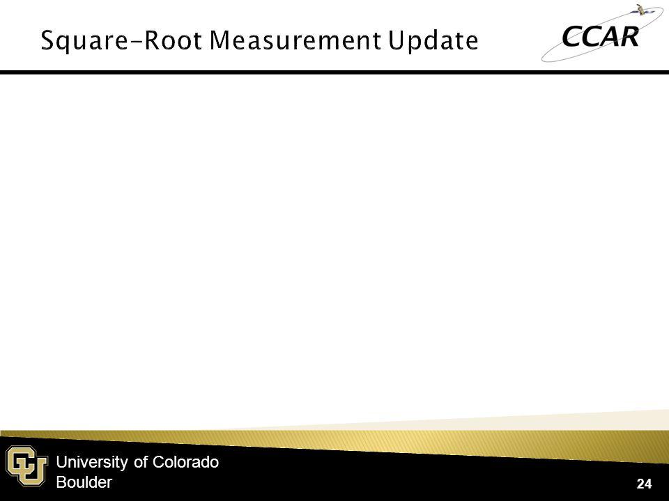 University of Colorado Boulder 24