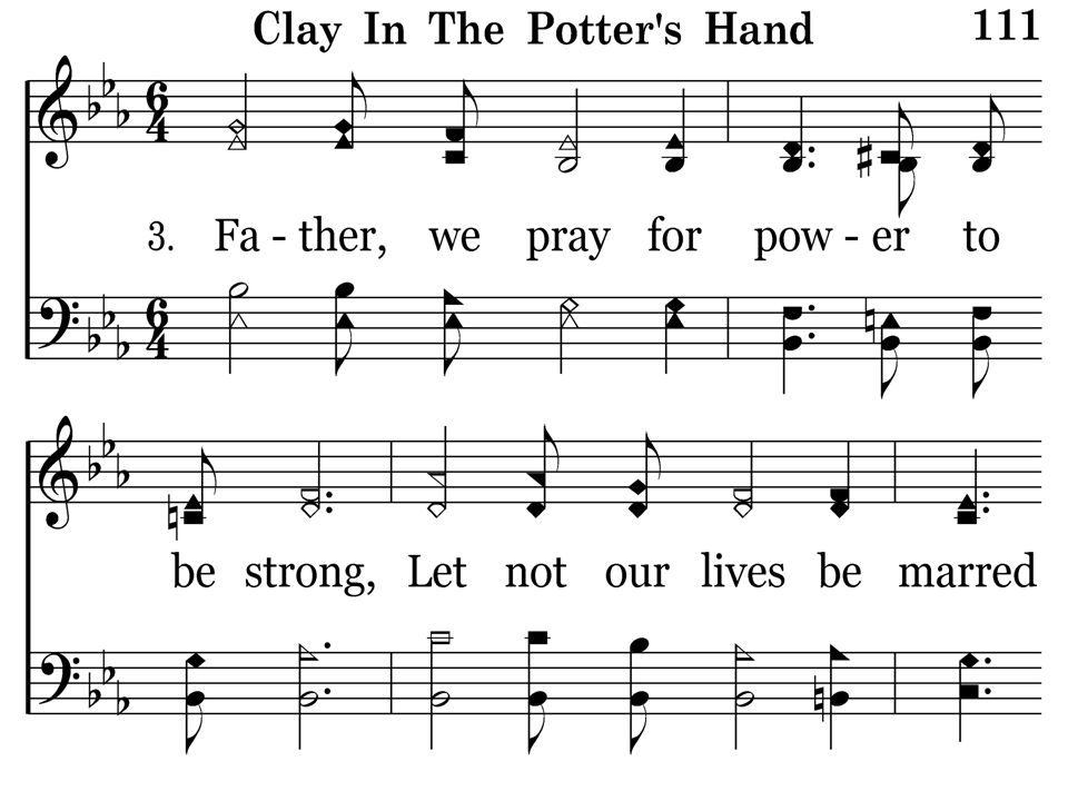 111 - Clay In The Potter s Hand - 3.1
