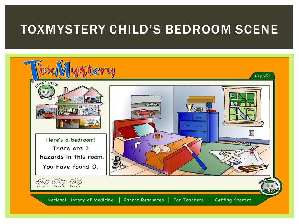 TOXMYSTERY CHILD'S BEDROOM SCENE