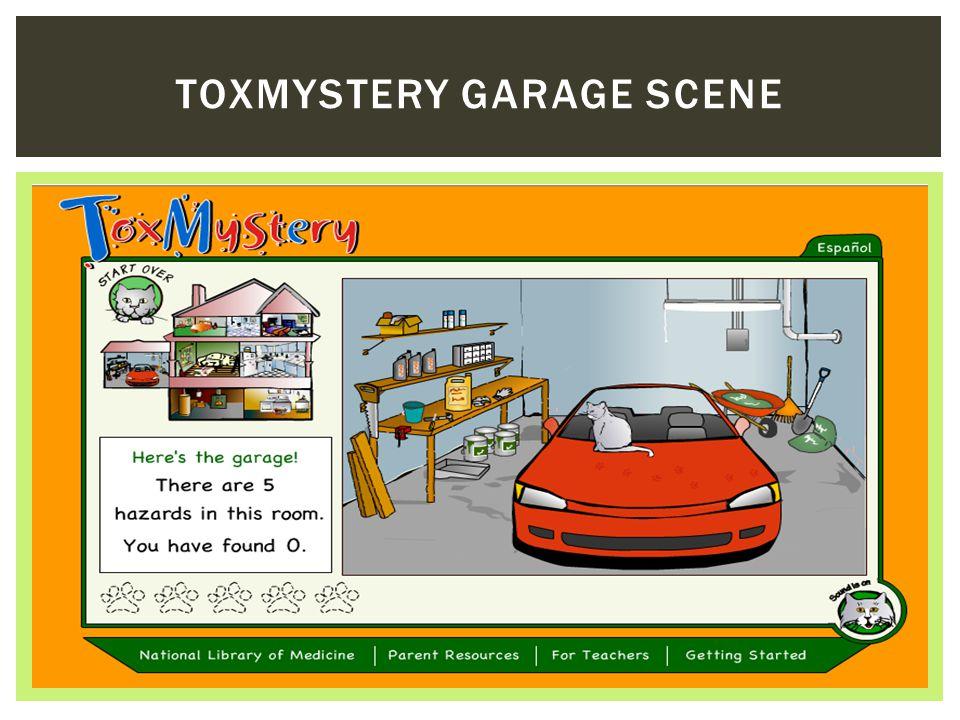 TOXMYSTERY GARAGE SCENE