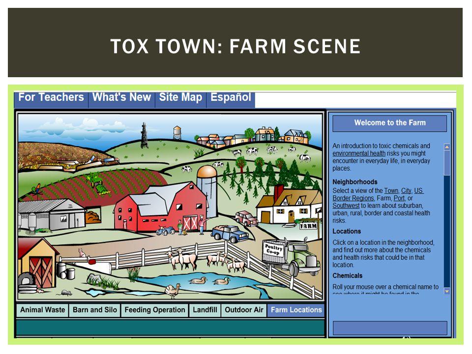 TOX TOWN: FARM SCENE
