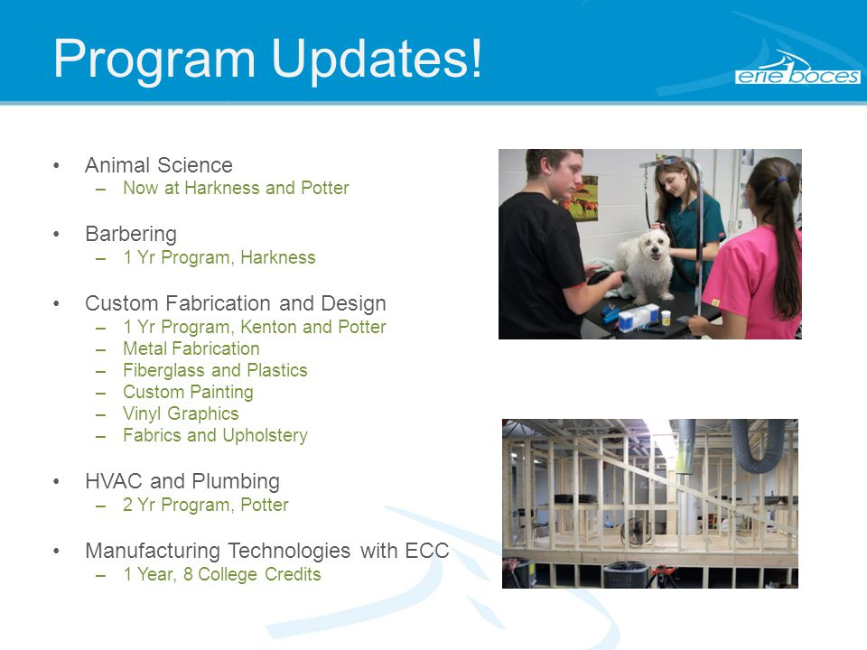 Program Updates.