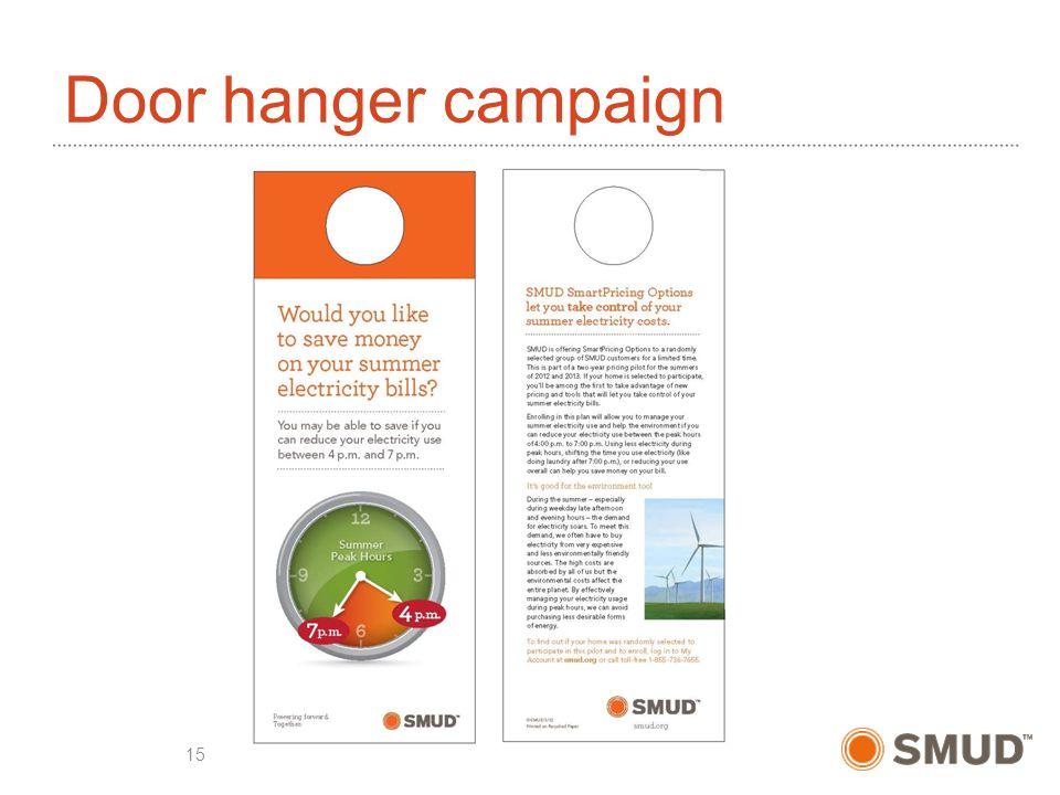 Door hanger campaign 15