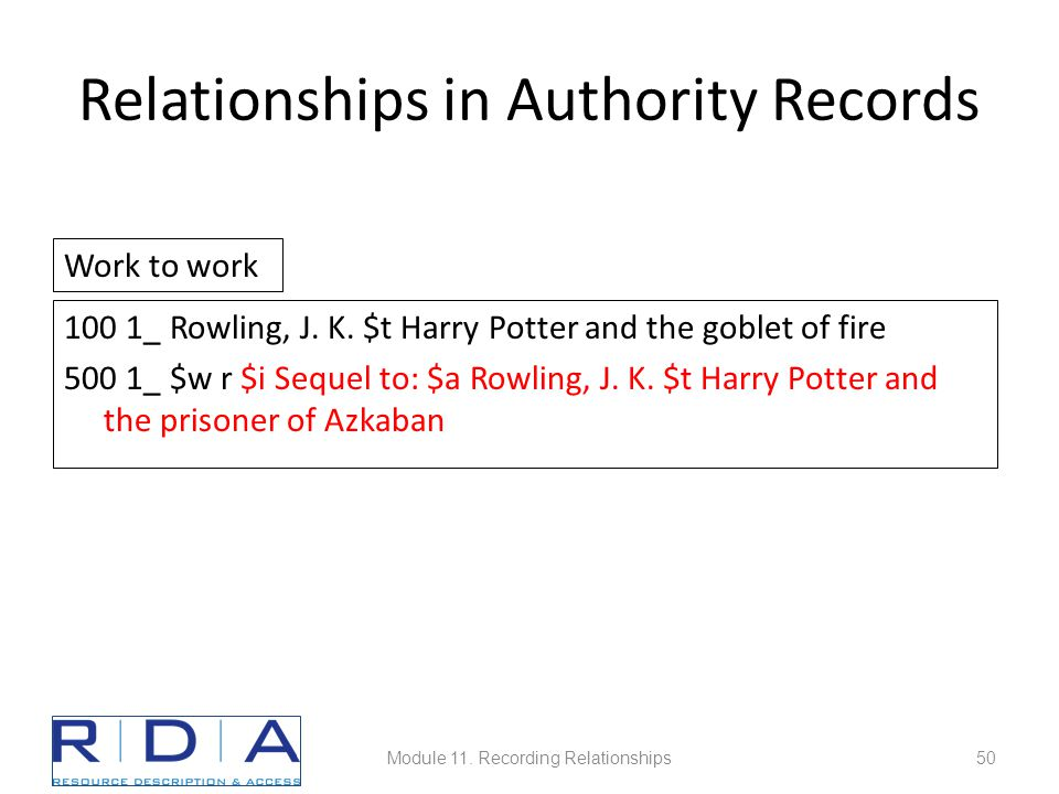 Relationships in Authority Records 100 1_Rowling, J.