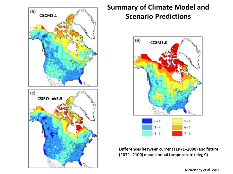 Modeling Approaches Bioclimate Envelope Models Iverson et al.