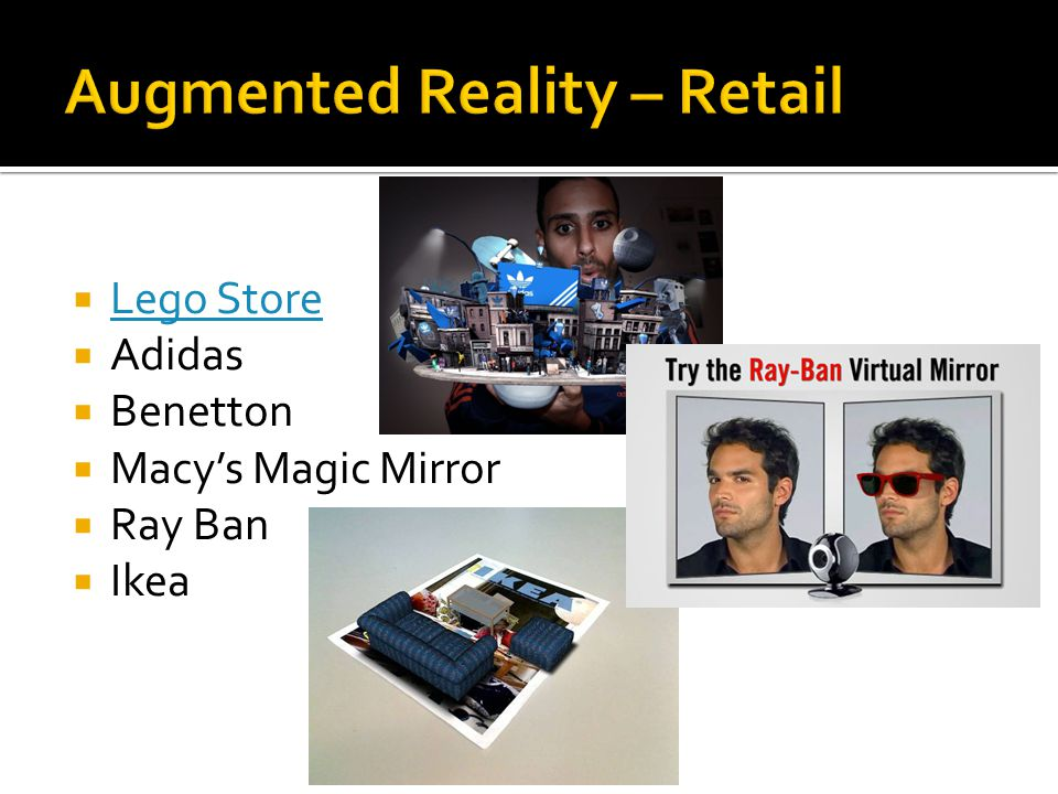  Lego Store Lego Store  Adidas  Benetton  Macy's Magic Mirror  Ray Ban  Ikea