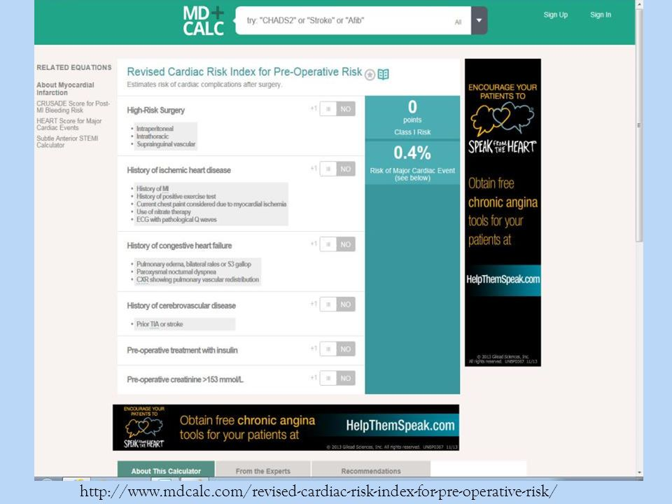 http://www.mdcalc.com/revised-cardiac-risk-index-for-pre-operative-risk/
