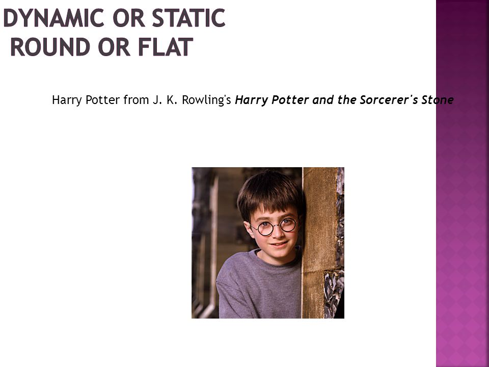 Harry Potter from J. K. Rowling s Harry Potter and the Sorcerer s Stone