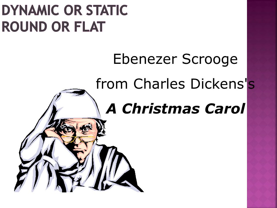 Ebenezer Scrooge from Charles Dickens's A Christmas Carol