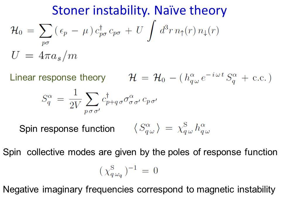 Stoner instability.
