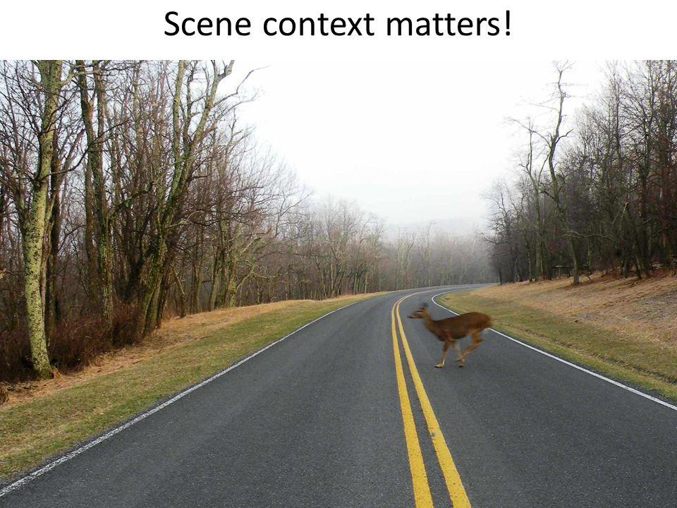 Scene context matters!
