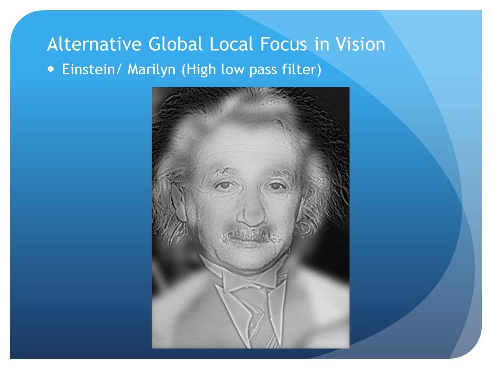 Einstein/ Marilyn (High low pass filter)