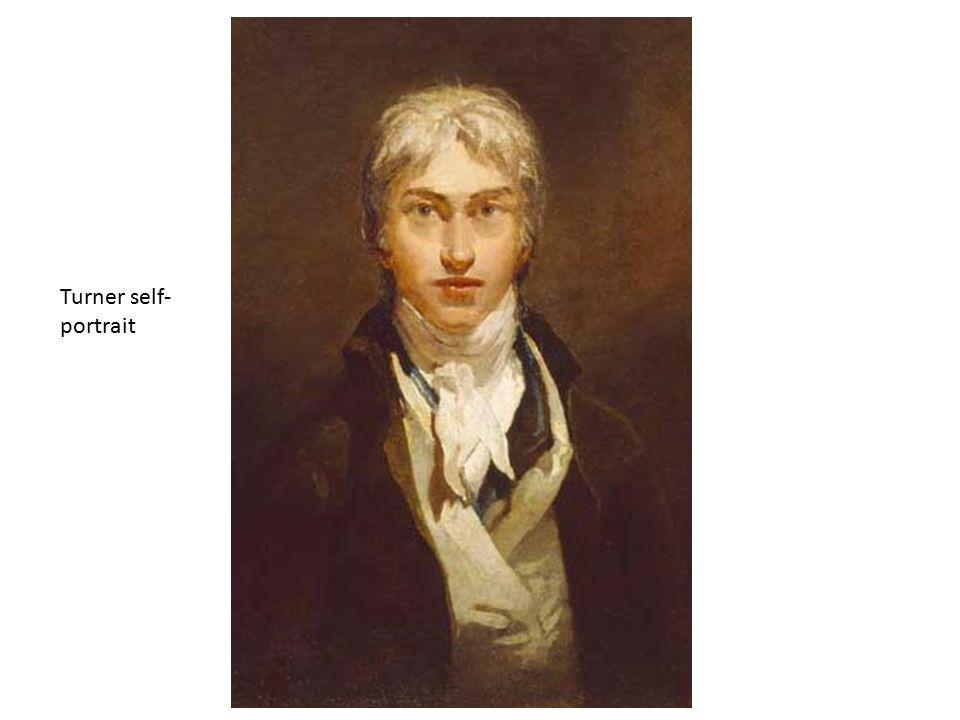 Turner self- portrait