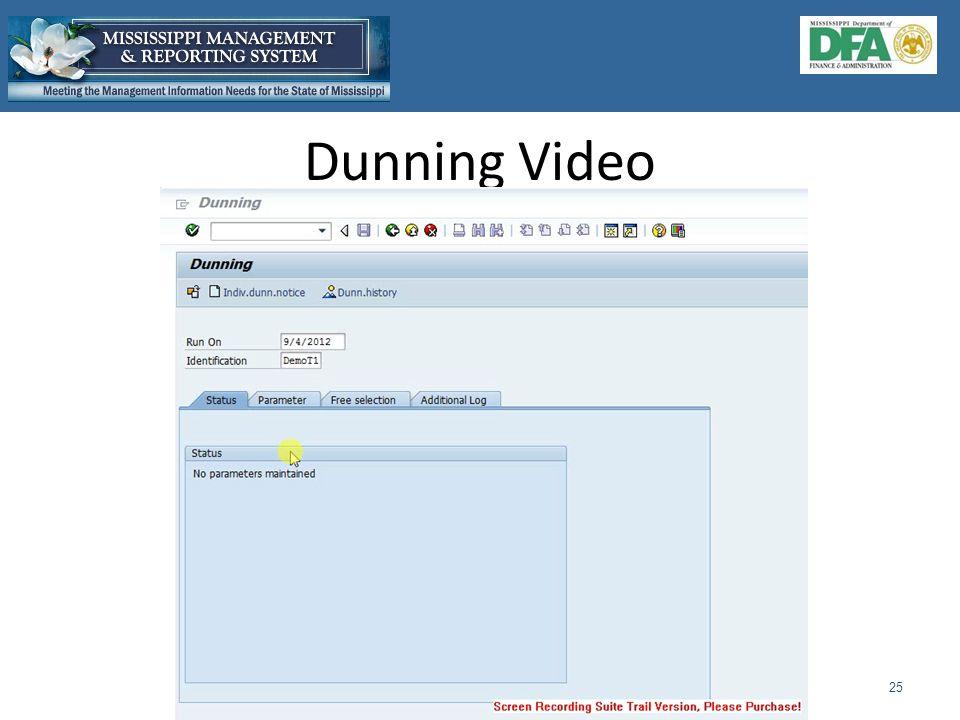 Dunning Video 25