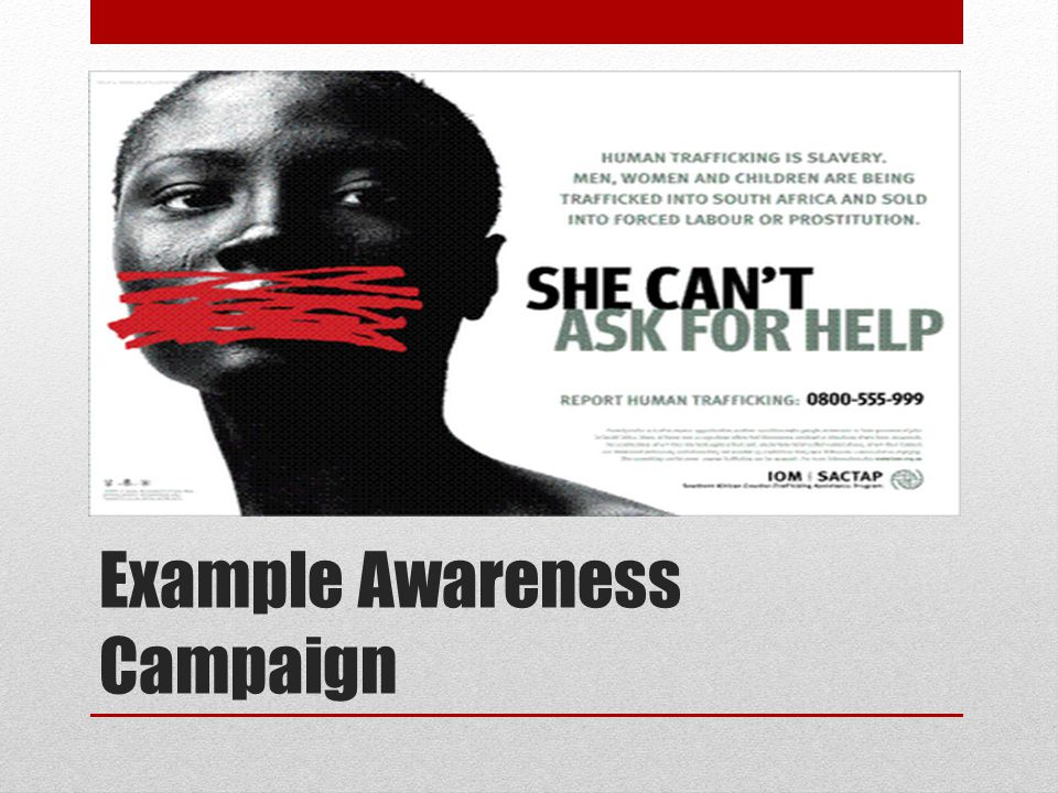 Example Awareness Campaign