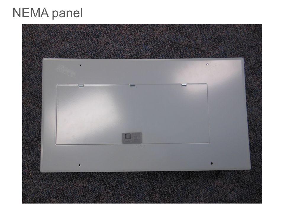 NEMA panel