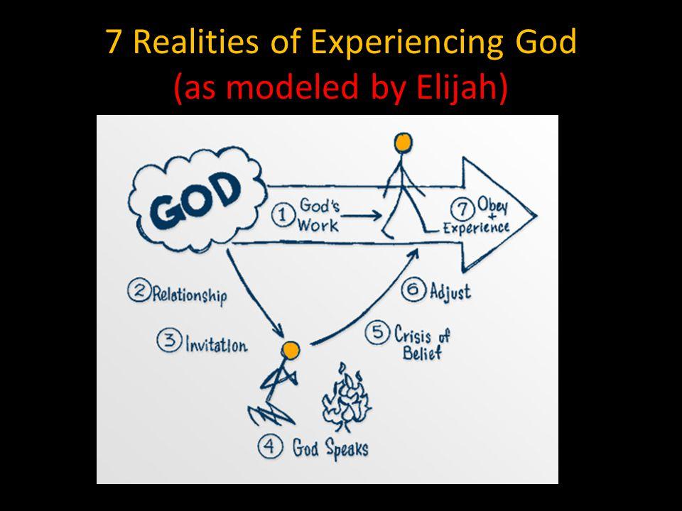 1. God was already at work around Elijah 1 Kings 19:18