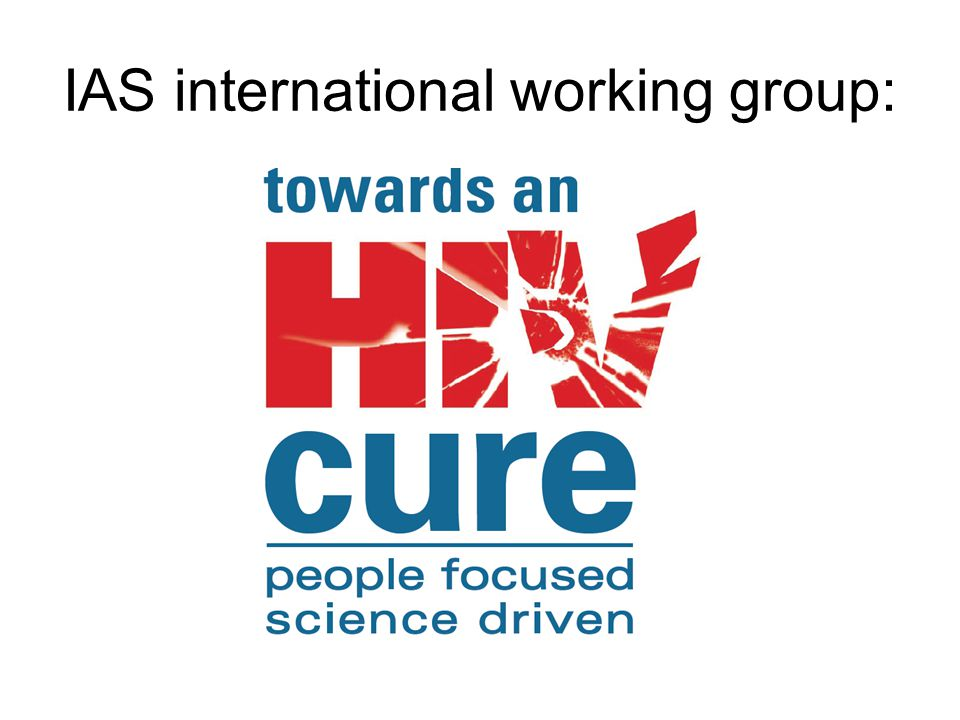 IAS international working group: