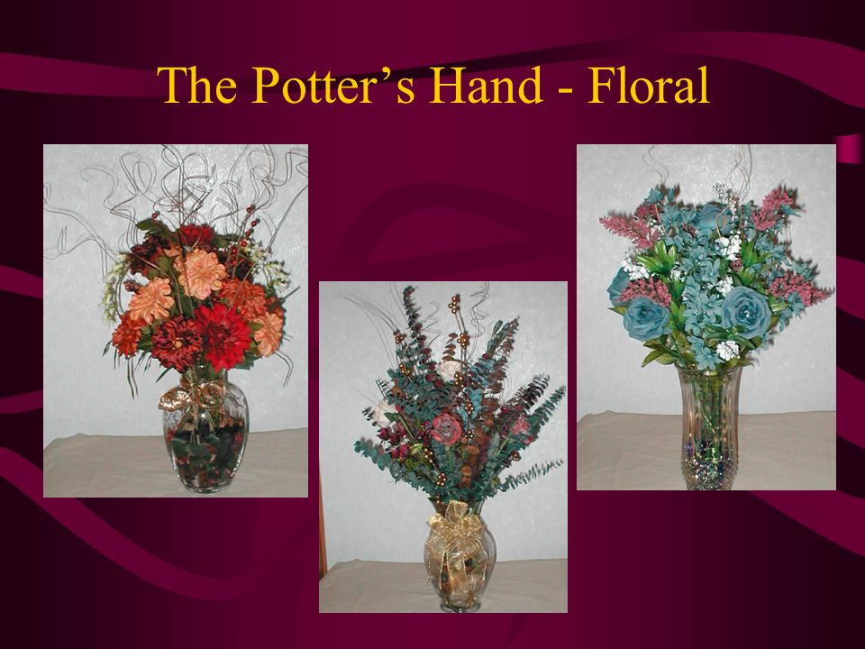 The Potter's Hand - Floral