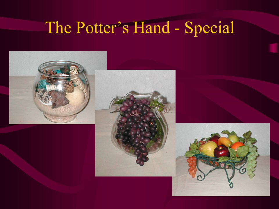 The Potter's Hand - Special
