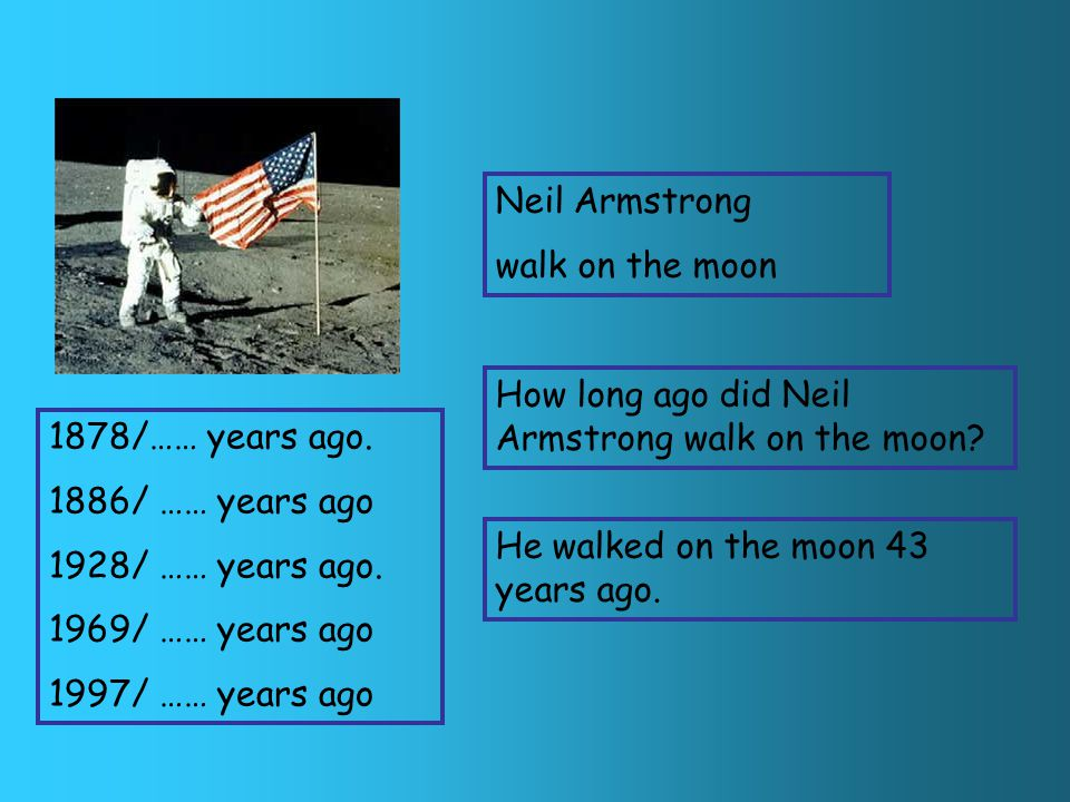 Neil Armstrong walk on the moon When did Neil Armstrong walk on the moon.