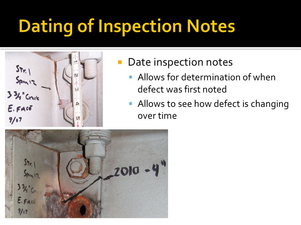 Date [2009] South fascia girder has 10LF of freckling rust starting at west abutment Location Description Quantity