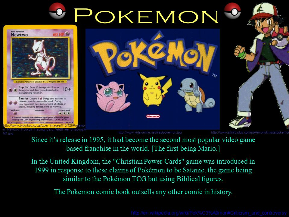 Since it's release in 1995, it had become the second most popular video game based franchise in the world.