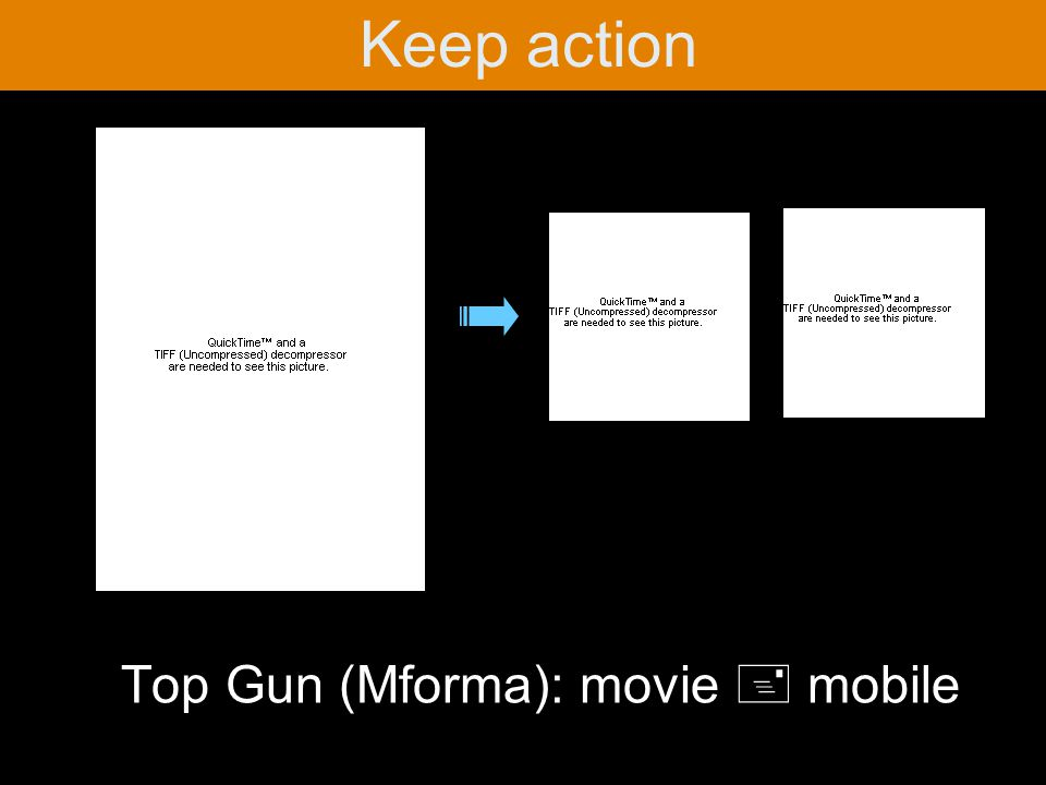 Top Gun (Mforma): movie + mobile Keep action