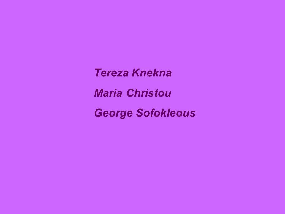 Tereza Knekna Maria Christou George Sofokleous