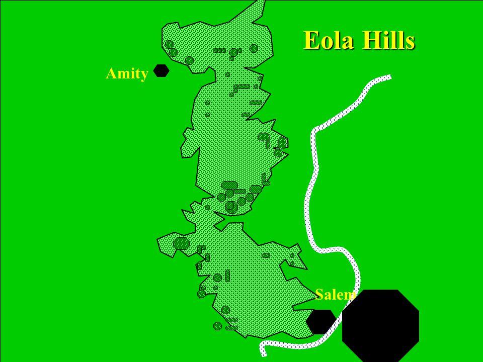 Presentation by: Eddie Valente Amity Salem Eola Hills