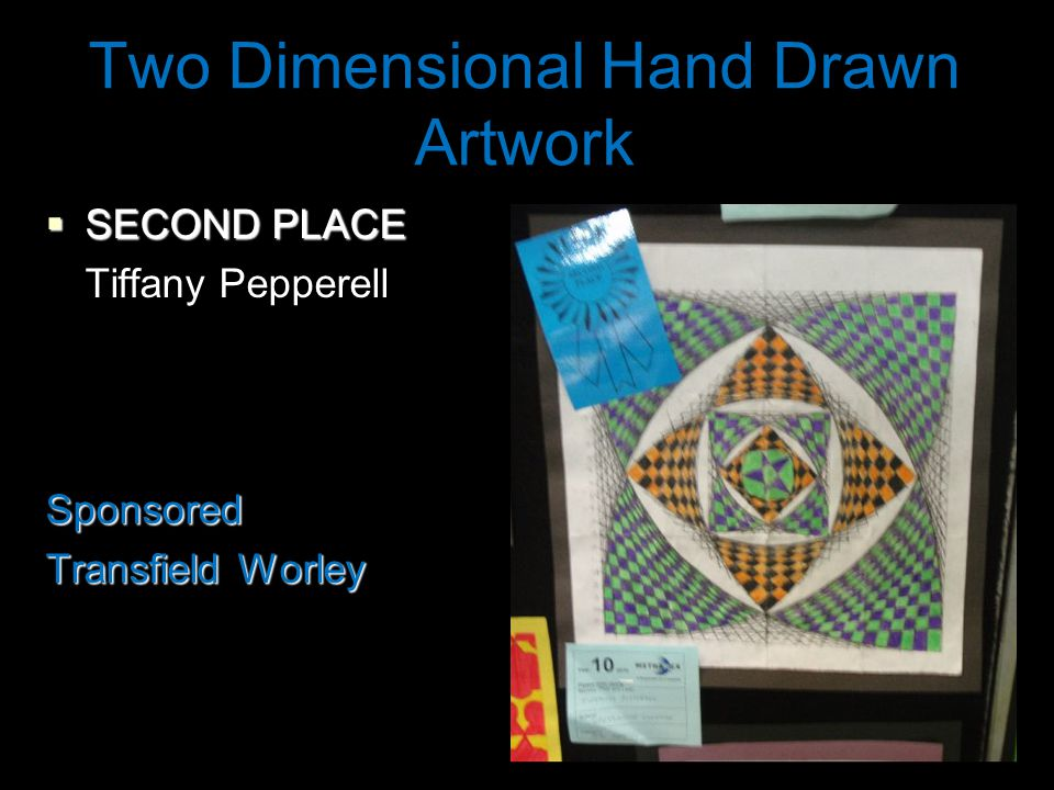 Two Dimensional Hand Drawn Artwork  SECOND PLACE Tiffany PepperellSponsored Transfield Worley