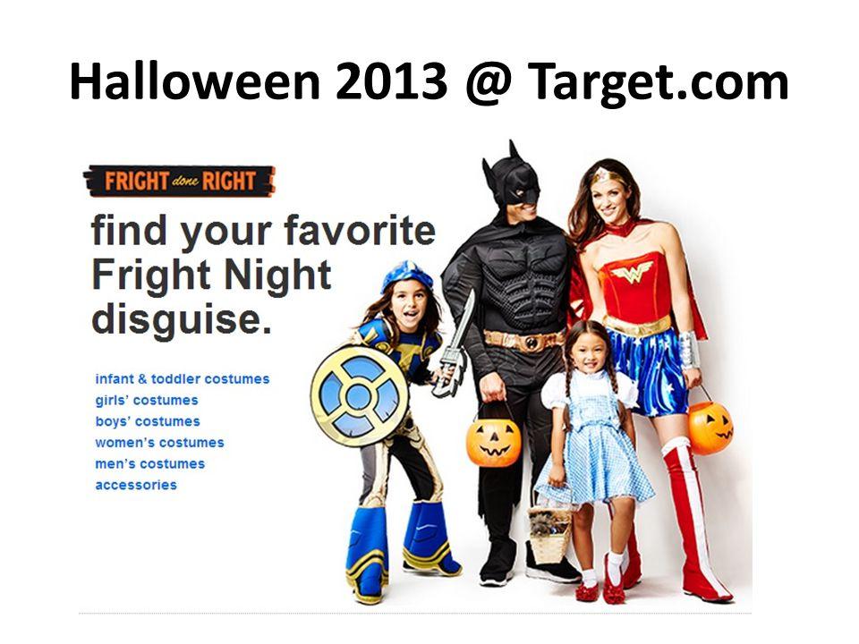Halloween 2013 @ Target.com