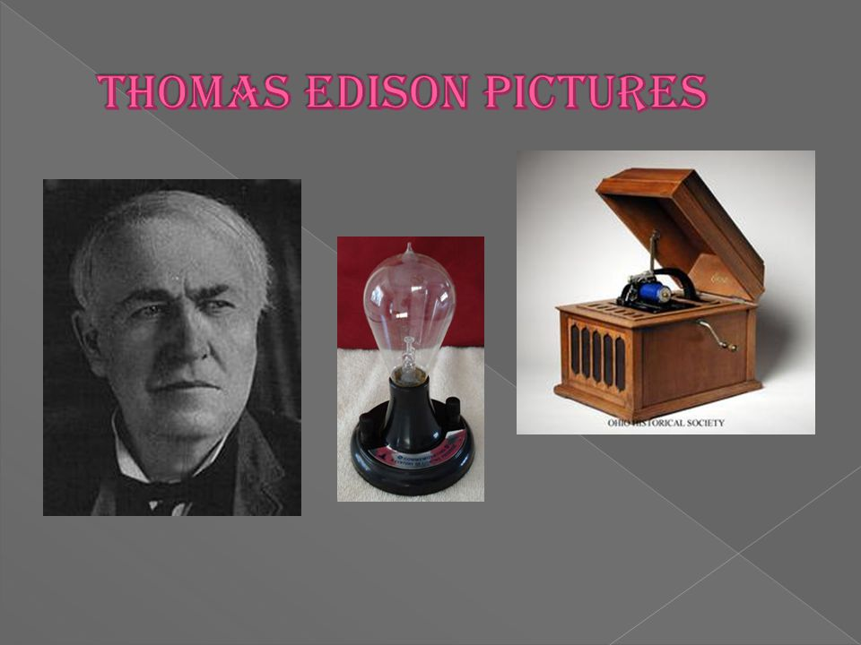  Thomas Alva Edison created the first light bulb in 1879.  To provide light in a dark room.