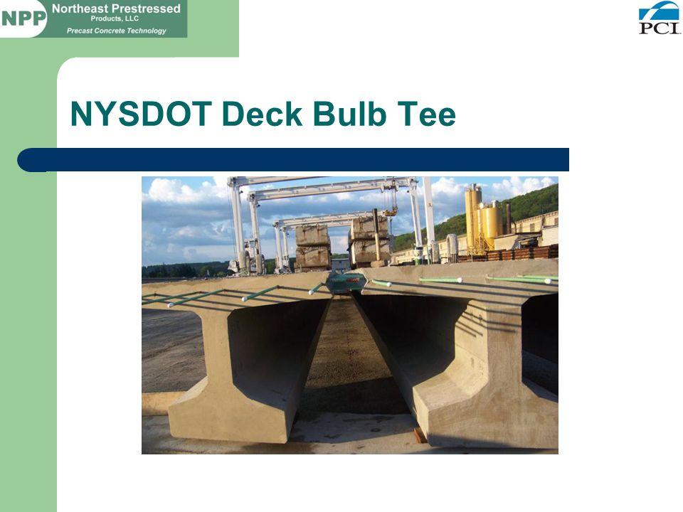 NYSDOT Deck Bulb Tee