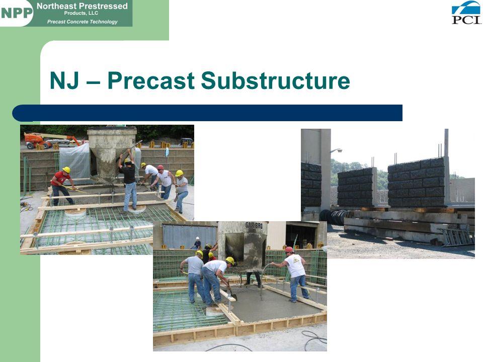 NJ – Precast Substructure