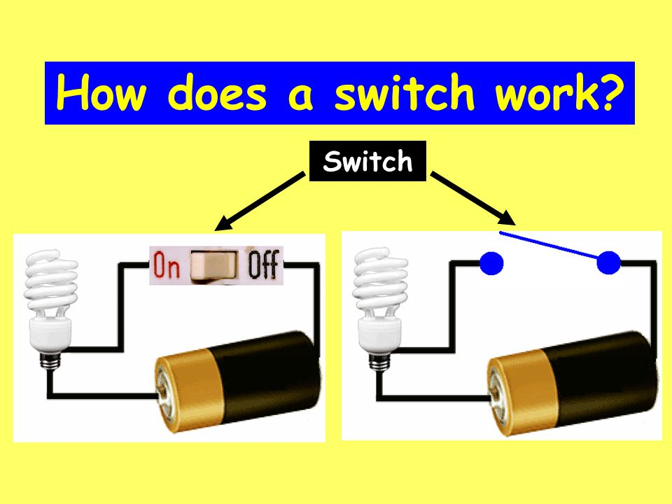 How does a switch work? Switch