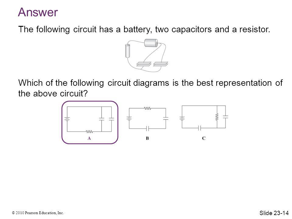 © 2010 Pearson Education, Inc. Kirchhoff's Junction Law Slide 23-15