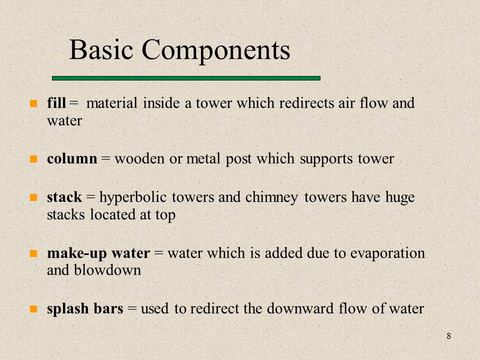 19 Water Composition Control (Solutions) Scale formation –remove scale forming solids with softening agents –prevent scale forming materials by addition of chemicals –precipitate scale for removal