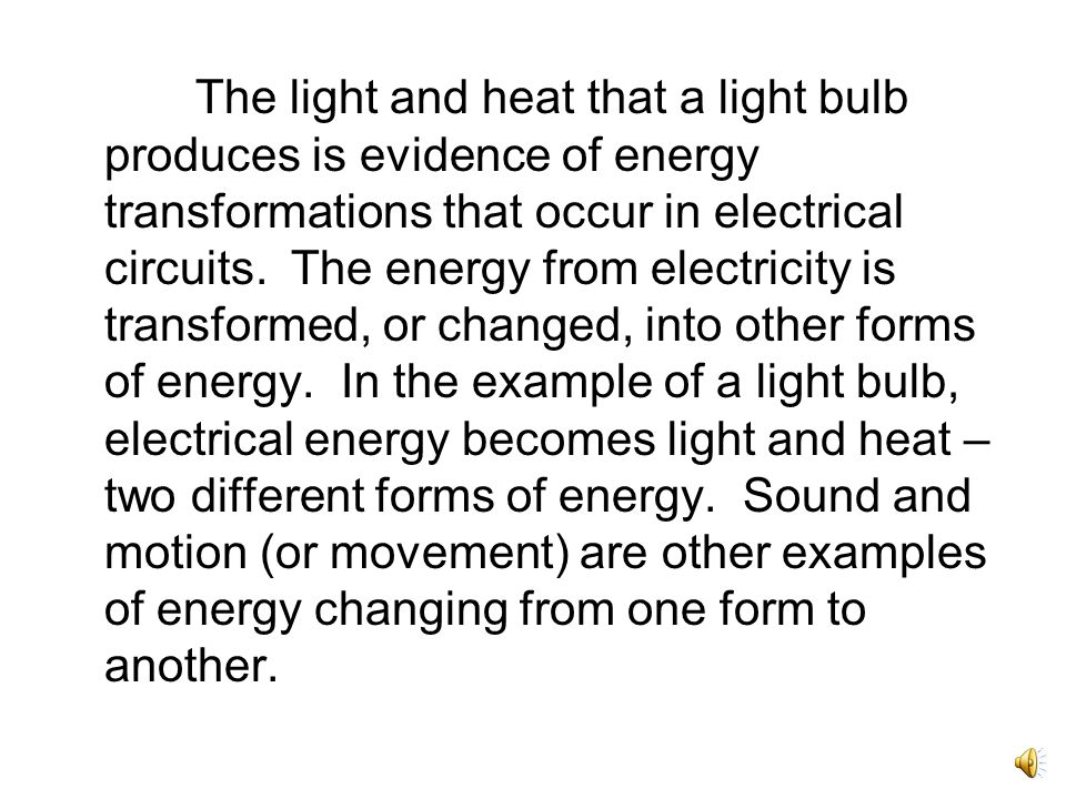 Some materials are good conductors. Electricity flows best through conductors.