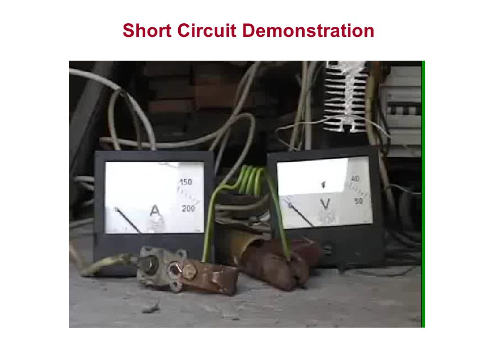 Short Circuit Demonstration
