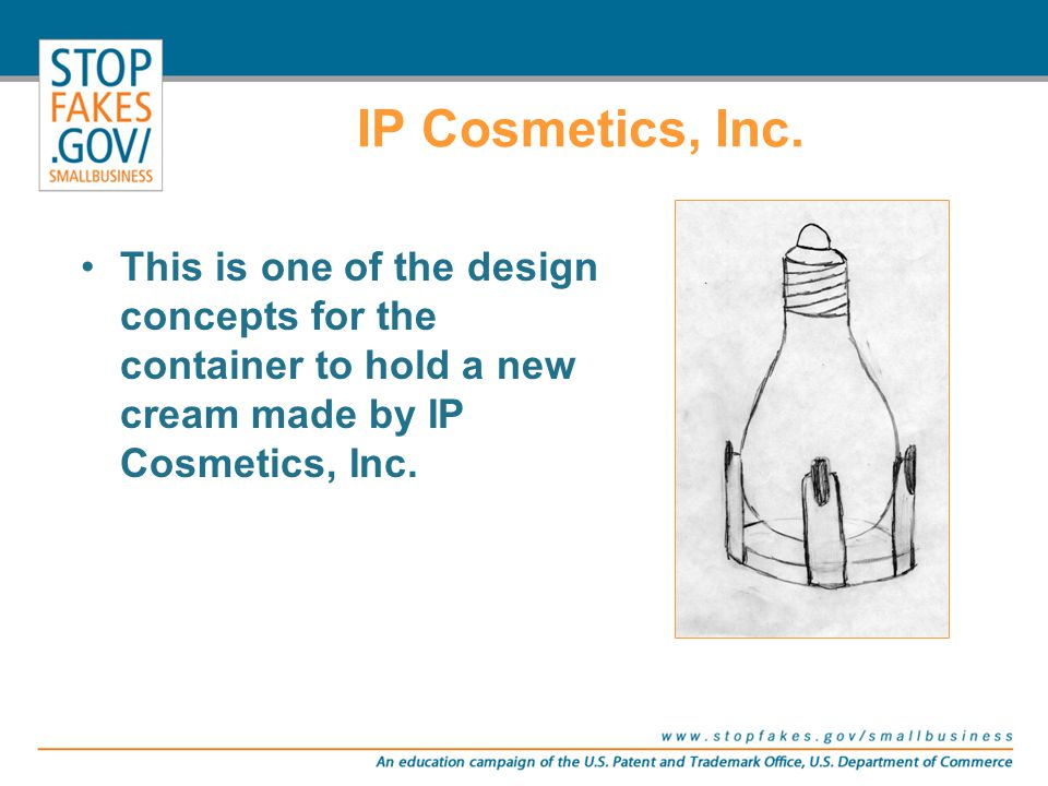 IP Cosmetics, Inc. and the toils of finding prior art on the design of their bottle Introducing